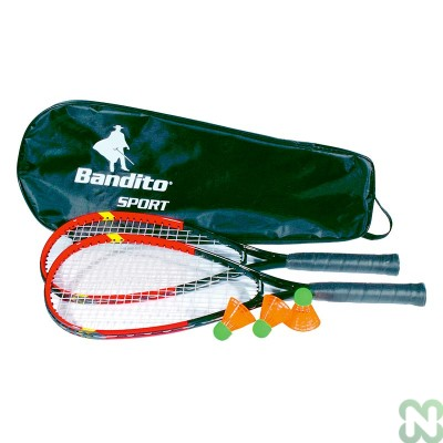 RACCHETTA BADMINTON BANDITO SPEED (SET 2 PZ)