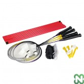 BADMINTON SET PER 4 GIOCATORI (RETE INCLUSA)
