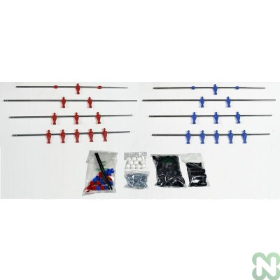 KIT COMPLETO A/P LASER ROSSO/BLU CLASSIC