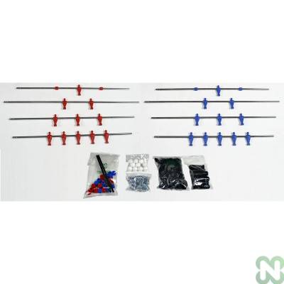 KIT COMPLETO A/P NORM ROSSO/BLU D/C ASSIST