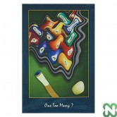 POSTER 'ONE TOO MANY?' cm. 92X60