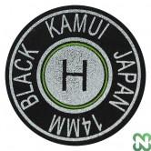 CUOIO KAMUI NERO HARD 14 - LAMINATO - ORIGINALE