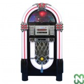 JUKE BOX DENVER VINILE RADIO AM/FM, CD, USB/SD, MP3, BLUETOOTH