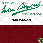 PANNO SIMONIS 300 RAPIDO 195 BORDEAUX   COMPOSIZIONE: 90% lana - 10%  nylon