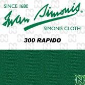 PANNO SIMONIS 300 RAPIDO 195 VERDE GIALLO COMPOSIZIONE: 90% lana - 10%  nylon