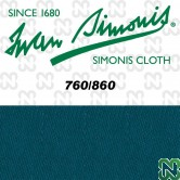 PANNO SIMONIS 860 198 BLU PETROLIO COMPOSIZIONE: 90% lana - 10%  nylon