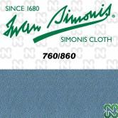 PANNO SIMONIS 860 198 BLU POLVERE COMPOSIZIONE: 90% lana - 10%  nylon