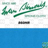 PANNO SIMONIS 860 HR 198 BLU TOURNAMENT COMPOSIZIONE: 70% LANA - 30% NYLON