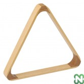 TRIANGOLO IN LEGNO PER POOL PER BILIE 57,2 mm