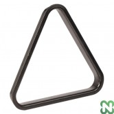 TRIANGOLO PLASTICA PER BILIE 38 mm NERO - POOL