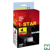 PALLINE PING PONG *STAR ( CONF. 6 PZ)